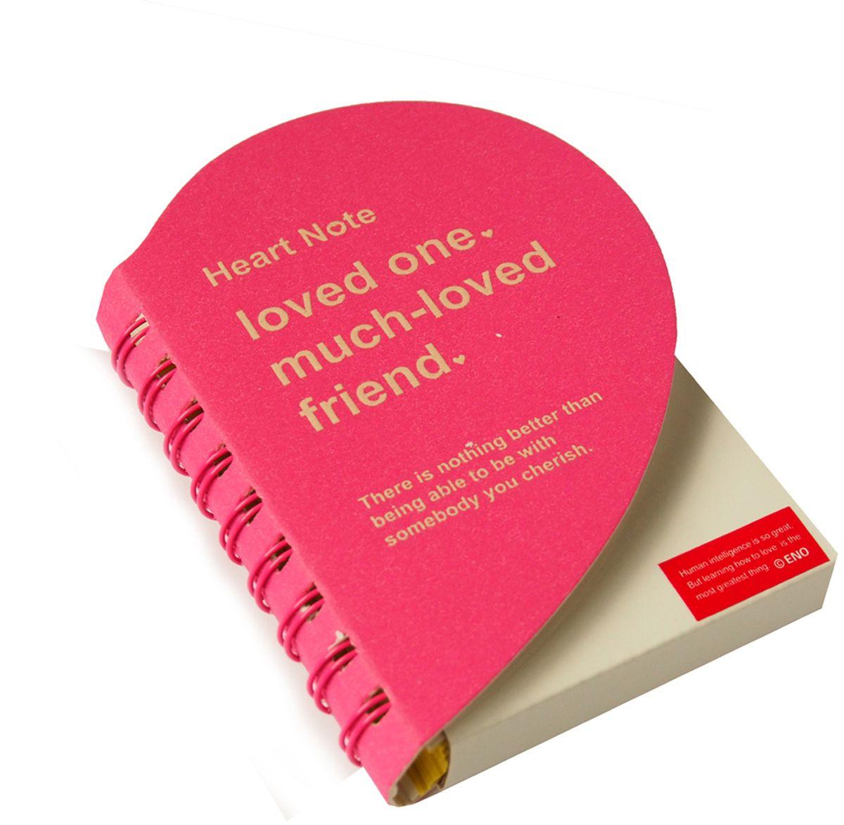 Карамба Блокнот Сердце 136 листов цвет ярко-розовый2894Очень красивый и удобный блокнот Карамба выполнен в виде сердца с цветными нелинованными страницами. Блокнот на спирали имеет 136 листов.