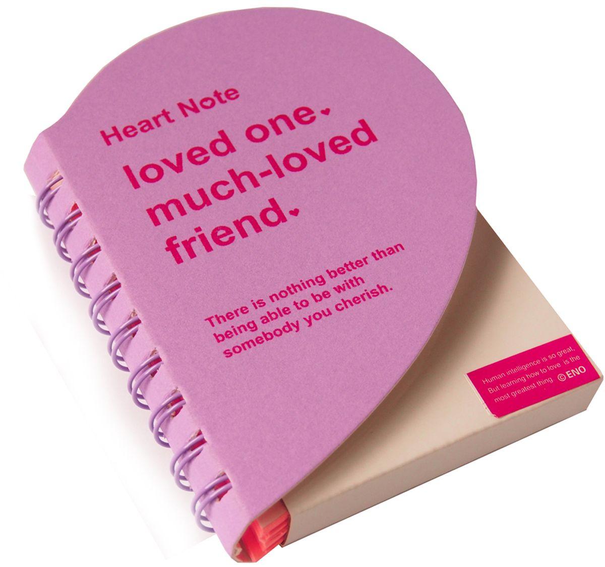 Карамба Блокнот Сердце 136 листов цвет сиреневый2899Очень красивый и удобный блокнот Карамба выполнен в виде сердца с цветными нелинованными страницами. Блокнот на спирали имеет 136 листов.