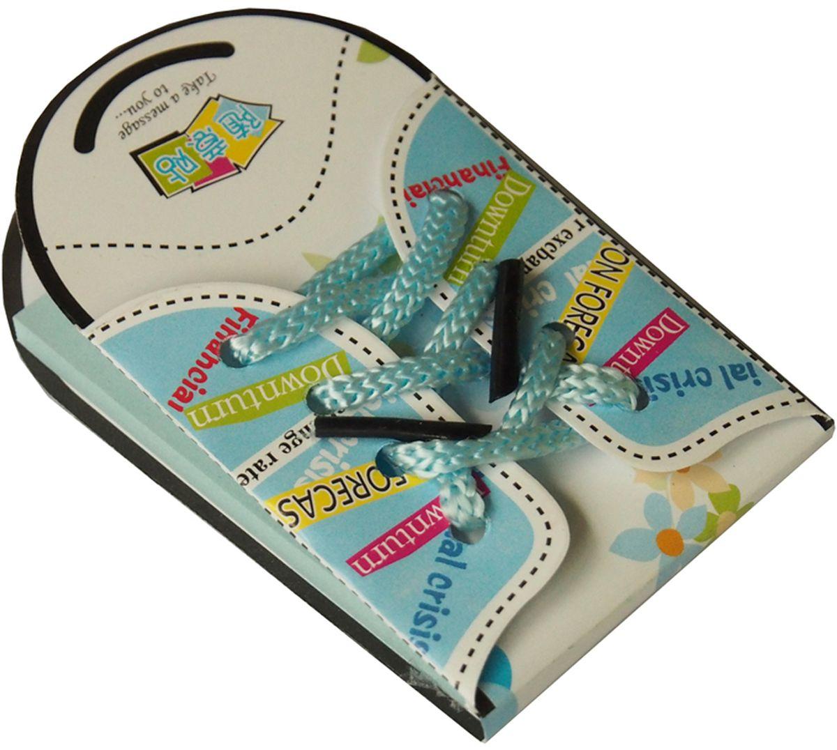 Карамба Блокнот Кеды 50 листов39Забавный блокнотик со шнуровкой