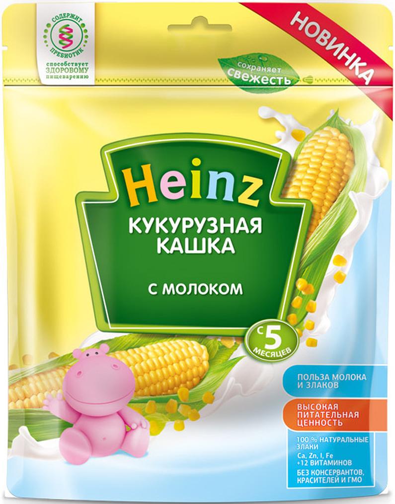 Heinz каша кукурузная с молоком, с 5 месяцев, 250 г