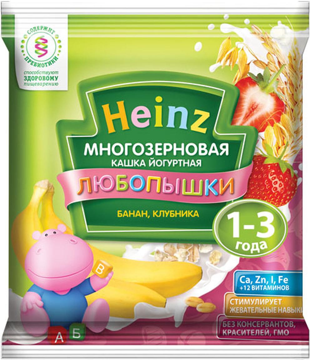 Heinz каша многозерновая фруктово-йогуртная банан, клубника сашет, с 12 месяцев, 30 г79000235Для 12-месячного ребёнка возьмите 40 г (5 столовых ложек) сухого продукта на 130 мл воды. Налейте указанное количество вскипячённой и остуженной до 50°С воды в тарелочку. Не добавляйте сахар и соль. Тщательно перемешивая, всыпайте рекомендуемое количество каши до получения однородной консистенции. Не варите.Продукт содержит глютен и молоко.