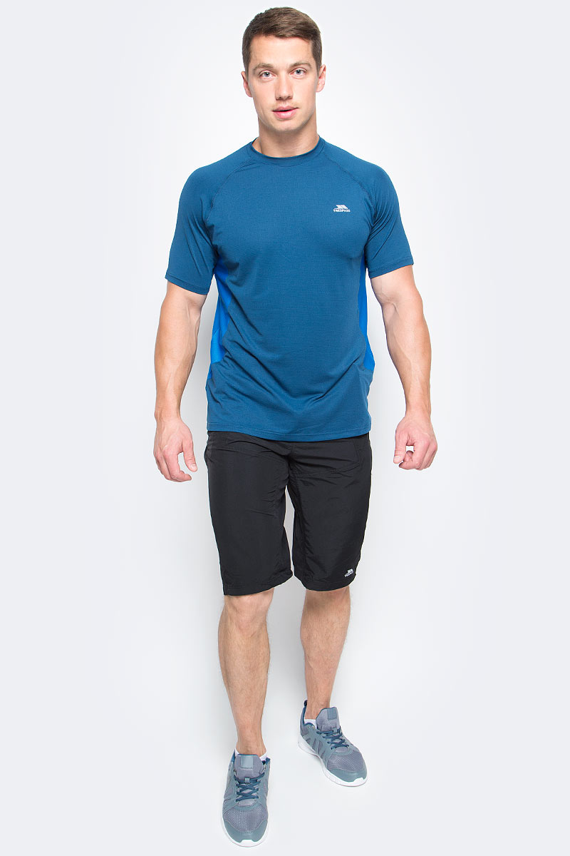 Шорты для велоспорта мужские Trespass Lomas, цвет: черный. MABTSHG10010. Размер XL (54) шорты trespass шорты