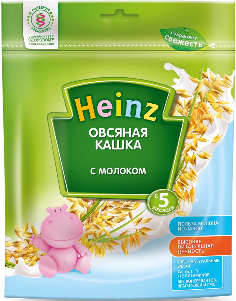 Heinz каша овсяная с молоком, с 5 месяцев, 250 г