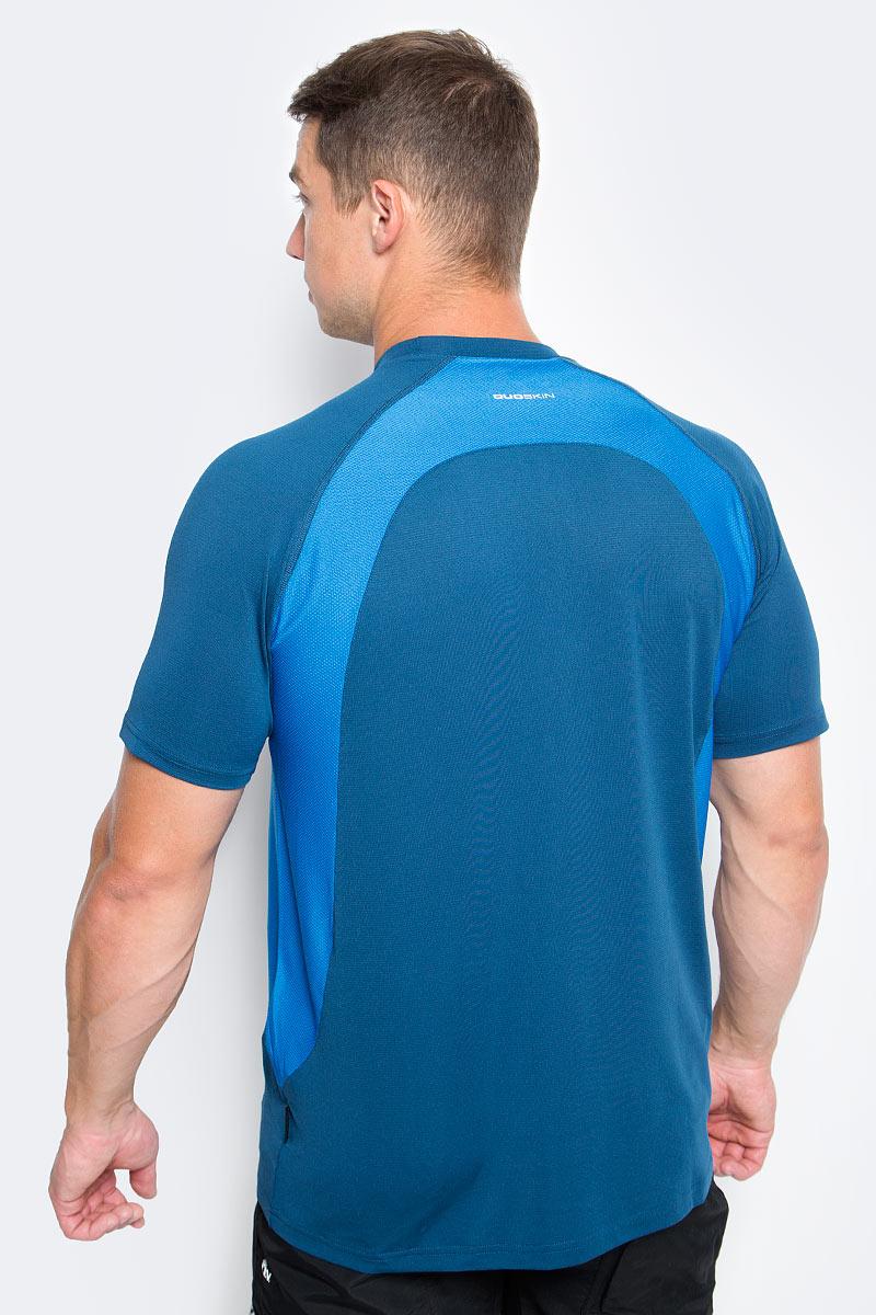 Великолепная легкая быстросохнущая Trespass Reptia для занятия спортом выполнена из полиэстера и эластана. Модель с круглым вырезом горловины и короткими рукавами реглан. На груди логотип бренда.