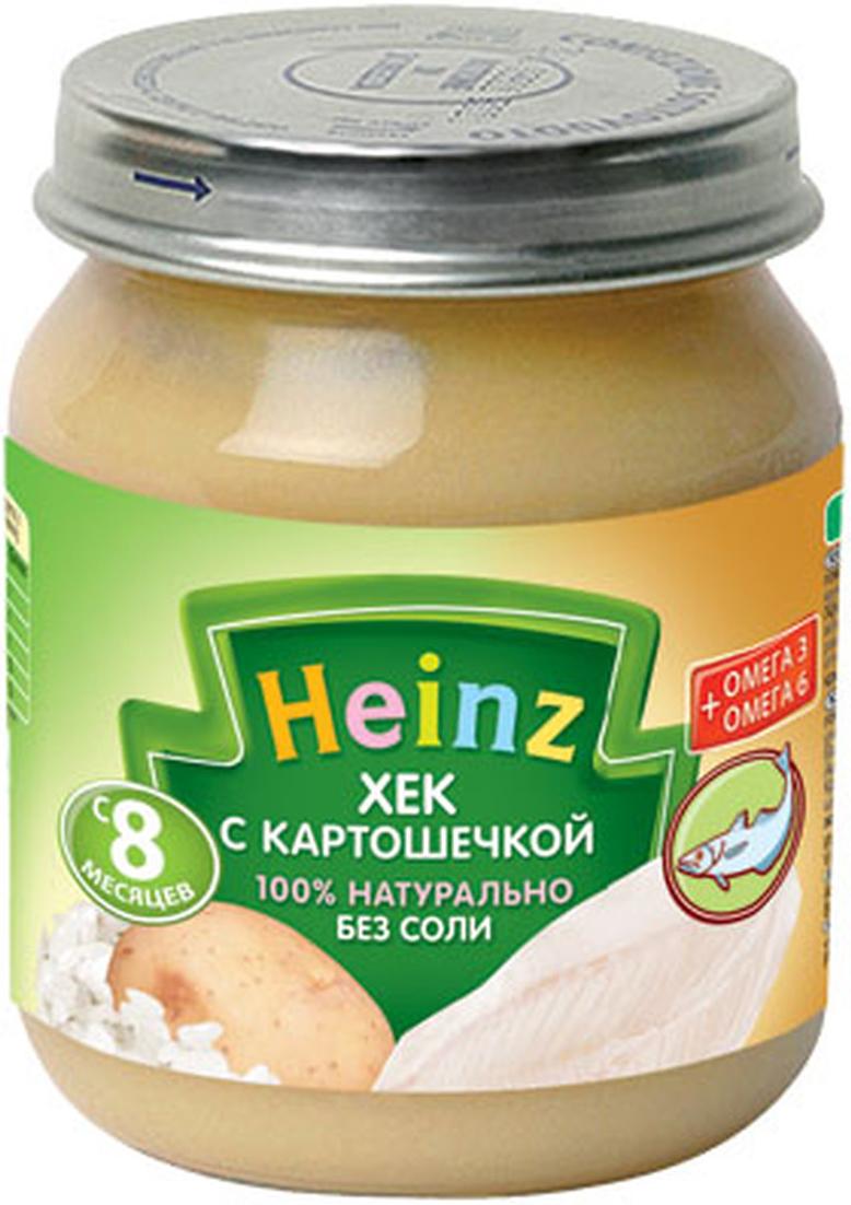 Heinz пюре хек с картошечкой, с 8 месяцев, 120 г heinz 120