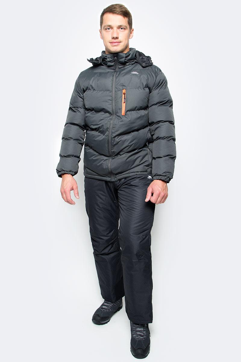 Куртка мужская Trespass Blustery, цвет: серо-зеленый. MAJKCAK20004. Размер XL (54) куртка мужская trespass blustery цвет синий majkcak20004 размер xxs 44