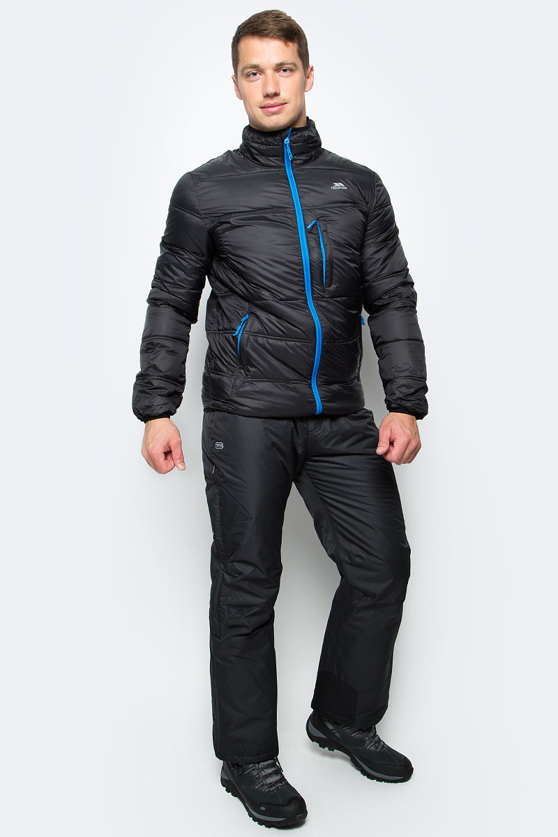 Куртка мужская Trespass Bismarck, цвет: черный. MAJKCAL20001. Размер L (52)MAJKCAL20001Великолепная теплая легкая куртка Trespass Bismarck выполнена из 100% полиэстера. Утеплитель ColdHeat 200 г/м2 (синтетический, микроволоконный с функцией быстрого отвода влаги и высоким уровнем теплозащиты и износостойкости). Прекрасно подойдет как для города, так и для отдыха на природе.