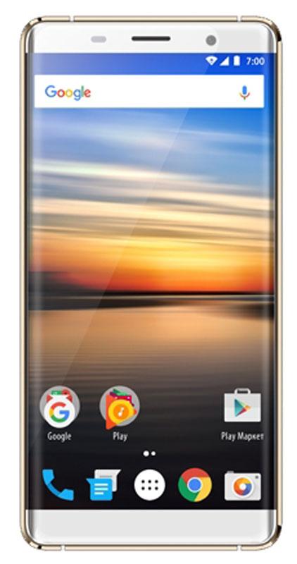 Vertex Impress Genius, GoldGNS4G-GLDСмартфон Vertex Impress Genius - ультрастильный 4G смартфон в металлическом корпусе и с безрамочным HD дисплеем.Благодаря 4-х ядерному процессору модель Impress Genius отлично подходит для решения повседневных задач. Мощность процессора обеспечивает бесперебойную работу операционной системы и установленных приложений. Смартфон оснащен 1 ГБ оперативной памяти и 8 ГБ встроенной, что позволяет эффективно использовать возможности интерфейса: Интернет, игры, приложения, фото и видео съемка, электронные книги и прочие дополнительные smart-функции. Для повышения работоспособности смартфона и увеличения объема памяти можно использовать microSD карты емкостью до 32 ГБ. Смартфон Vertex Impress Genius оснащен большим и ярким IPS дисплеем с разрешением HD и с технологией On-Cell, что дополняет стильный образ смартфона и позволяет максимально комфортно использовать возможности модели. IPS-матрица дисплея обеспечивает широкие углы обзора, а также высокую контрастность изображений и качественную цветопередачу.Уникальная конструкция корпуса с рамками толщиной всего 0,8 мм и 2.5D стекло толщиной 1,6 мм создают эффект изогнутого по краям дисплея. Безрамочный дисплей смартфона отлично сочетается с идеей дизайна, доставляя пользователю исключительное эстетическое удовольствие.Смартфон получил операционную систему Android 6.0 Marshmallow. ОС стала еще более функциональной и удобной для пользователя.Смартфон Vertex Impress Genius поддерживает высокоскоростной 4G интернет, что обеспечивает быструю передачу данных. Благодаря доступу к сетям LTE веб-серфинг стал еще проще и комфортнее: быстрая загрузка интернет-страниц, мгновенная отправка сообщений и файлов, просмотр видео на высокой скорости.Телефон сертифицирован EAC и имеет русифицированный интерфейс меню и Руководство пользователя.