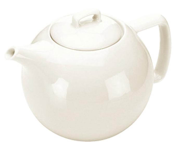 Заварной чайник Tescoma Crema, 1,4л. 387162387162Заварной чайник Tescoma Crema изготовлен из первоклассного фарфора. Идеально подходит для сервировки любого стола. Подходит для использования в микроволновой печи, холодильнике и посудомоечной машине (выдерживает температуру от - 18 до + 200 градусов).