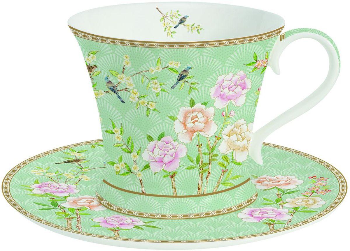 Чайная пара Easy Life Сад, 2 предмета. 1354PALA1354PALA1354PALA Чайная пара Сад 180 мл, фарфор