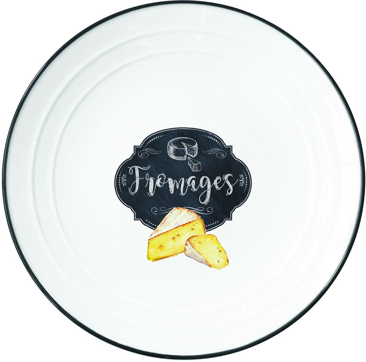 """Тарелка Easy Life """"Сыр"""" изготовлена из высококачественного фарфора.   Тарелка имеет оригинальный дизайн, а высокое качество и практичность позволят использовать  ее долгое время."""