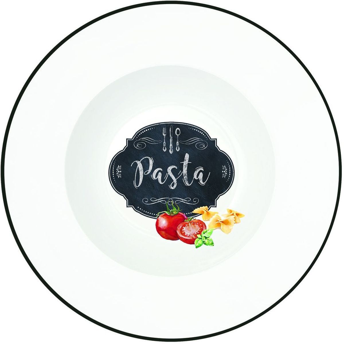 Блюдо для пасты Easy Life Кухня, диаметр 30 см1626KIBPБлюдо для пасты Easy Life Кухня изготовлено из высококачественного фарфора. Блюдо имеет оригинальную форму и дизайн, а высокое качество и практичность позволят использовать его долгое время.