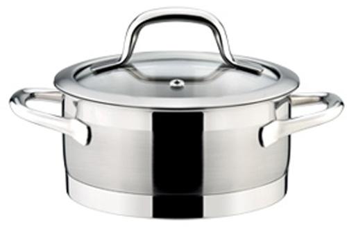 Кастрюля Tescoma President, с крышкой, диаметр 16 см, 1,5 л. 780241780241