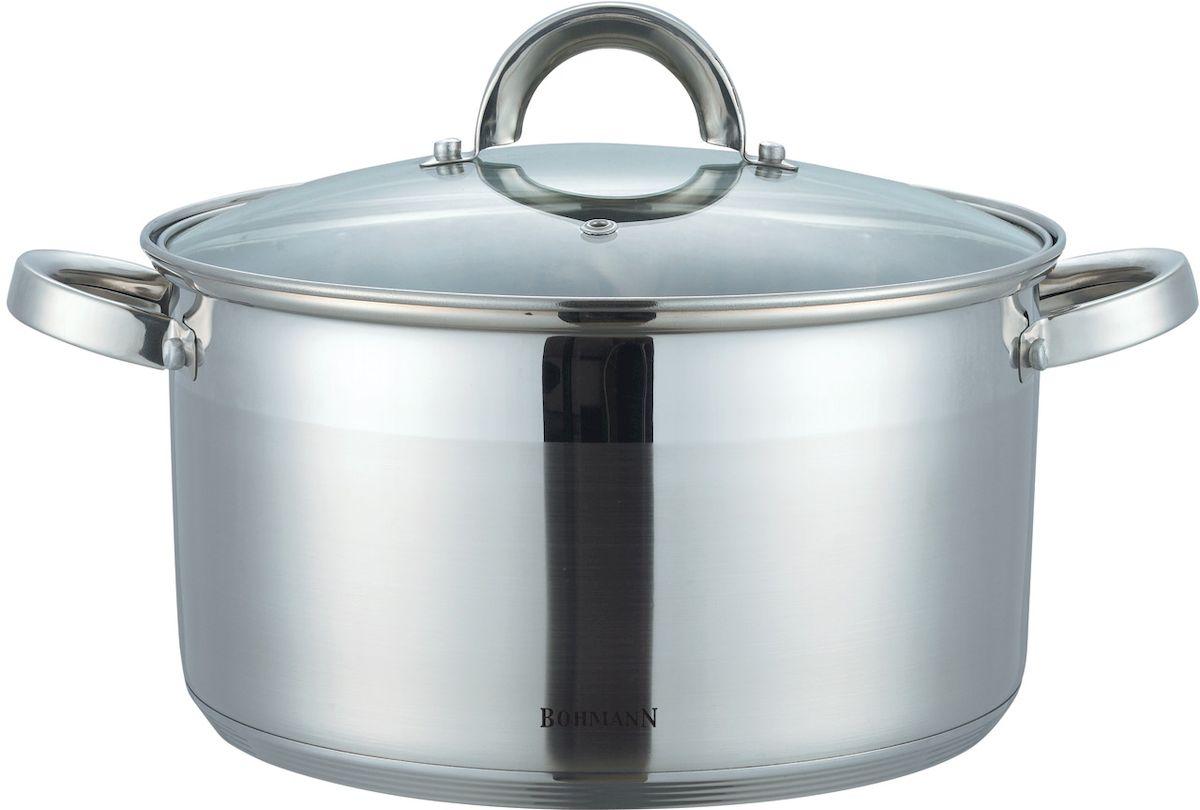 Кастрюля  Bohmann , с крышкой, 6,6 л. 1424BH - Посуда для приготовления