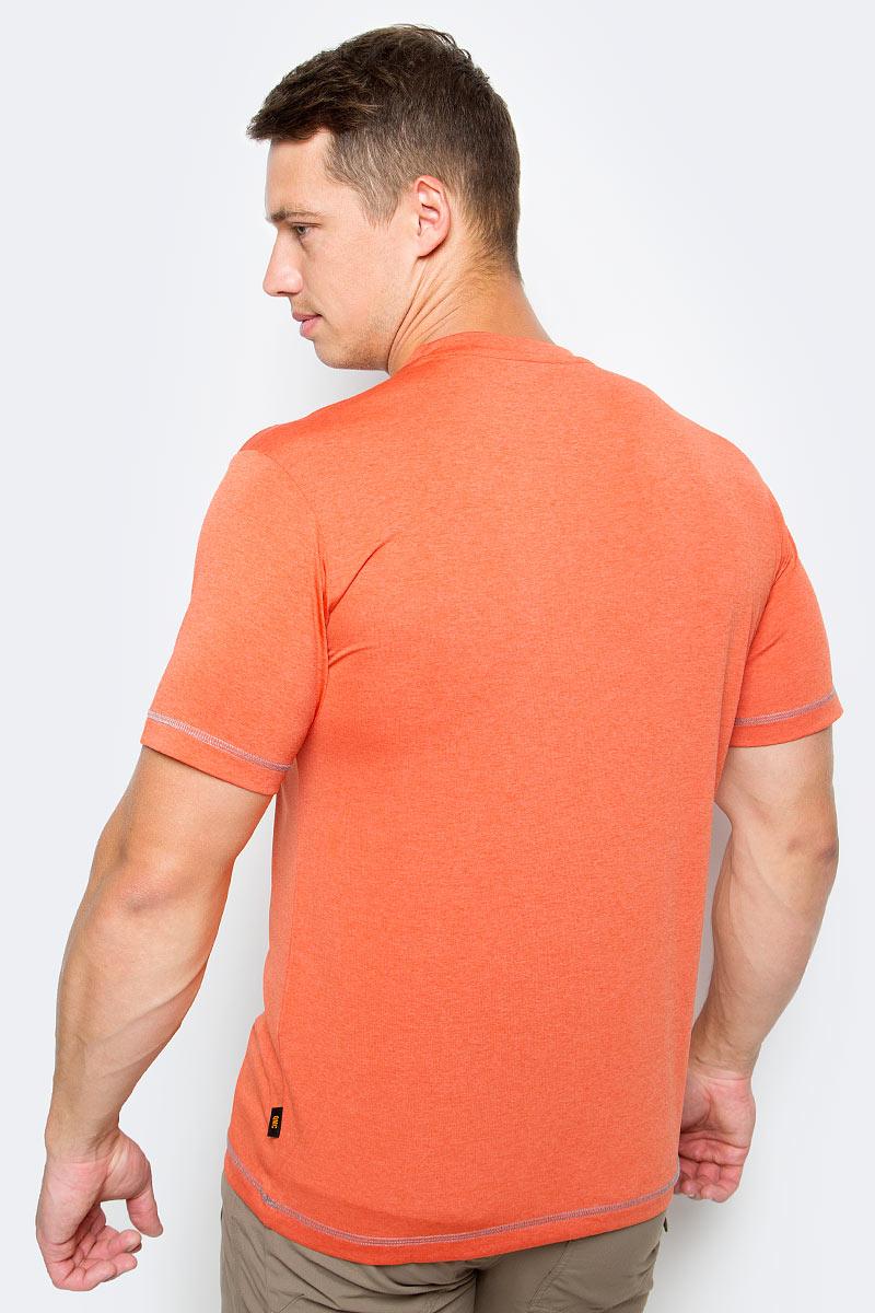 Футболка мужская Crosstrail T M изготовлена из 100% полиэстера. Ткань приятно охлаждает кожу во время интенсивных нагрузок и предотвращает появление неприятного запаха. Когда вы выкладываетесь на все сто процентов во время тренировок или походов, ваша футболка активна - она быстро отводит влагу наружу и неизменно обеспечивает ощущение сухости при носке. Модель имеет круглый вырез горловины и короткие стандартные рукава. Футболка дополнена логотипом бренда.