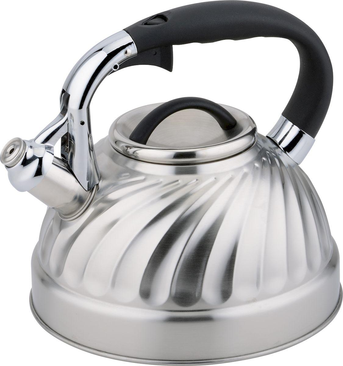 Чайник  Rainstahl , со свистком, 3 л. 7633-30RS\WK - Посуда для приготовления