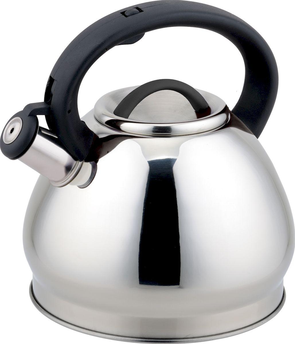 Чайник  Rainstahl , со свистком, 3 л. 7627-30RS\WK - Посуда для приготовления