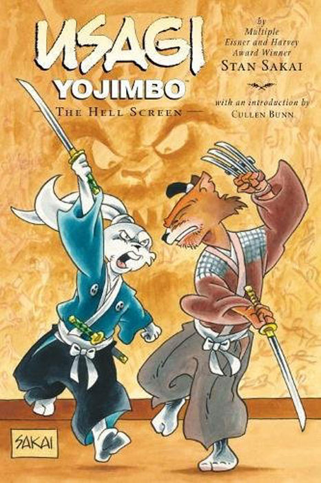 Usagi Yojimbo: Volume 31: The Hell Screen usagi yojimbo saga volume 7