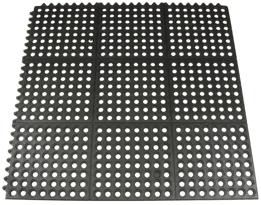 Коврик грязесборный модульный SunStep, 90 х 90 х 1,2 см коврик домашний sunstep цвет синий 80 х 150 х 4 см