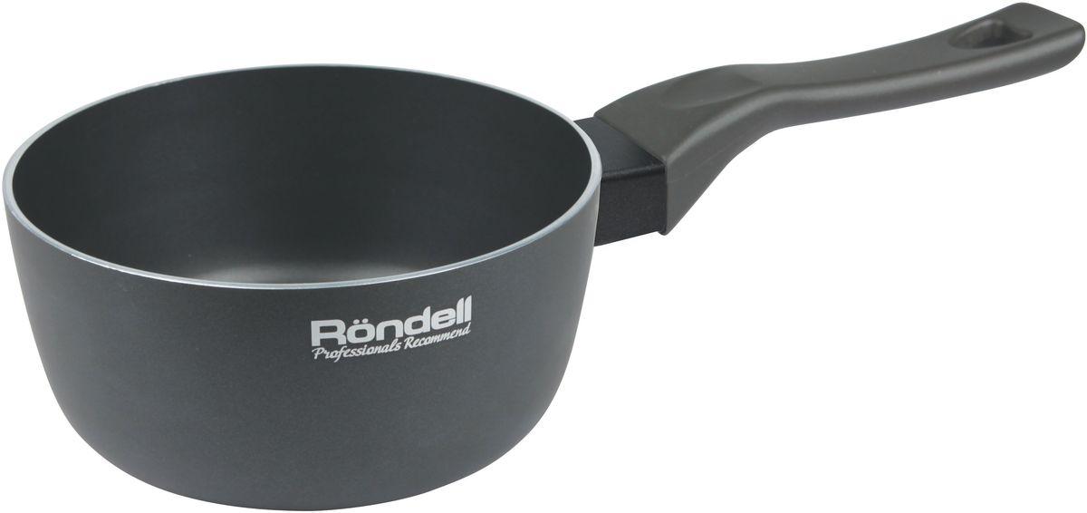 Ковш Rondell Marengo, с антипригарным покрытием, 1,3 лRDA-585Стильный ковш Rondell Marengo пригодится в арсенале ваших кухонных приспособлений. Темно-серый оттенок внешней стороны корпуса изделия создает поверхность эффектного вида с практичными характеристиками. Внутреннее двухслойное покрытие отличается антипригарными свойствами.Благодаря прогрессивной технологии двустороннего анодирования рабочих поверхностей ковша, которая не подвергается окислению, готовящаяся пища сохраняет свой набор полезных веществ и естественный вкус.Диаметр по верхнему краю: 16 см.Объем: 1,3 л.Высота стенки: 7,5 см.Не подходит для посудомоечной машины.Подходит для использования на всех типах плит, кроме индукционных.