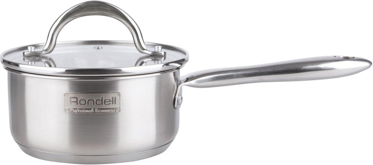 Ковш Rondell  Destiny , с крышкой, 1,2 л - Посуда для приготовления