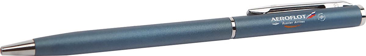 Аэрофлот Ручка шариковая цвет чернил синий2200002228Ручка шариковая Аэрофлот имеет стильный металлизированный корпус с хромированной отделкой, украшена символикой Аэрофлота.Шариковая ручка — символ скрепленных договоренностей и идеальный презент для деловых партнеров.