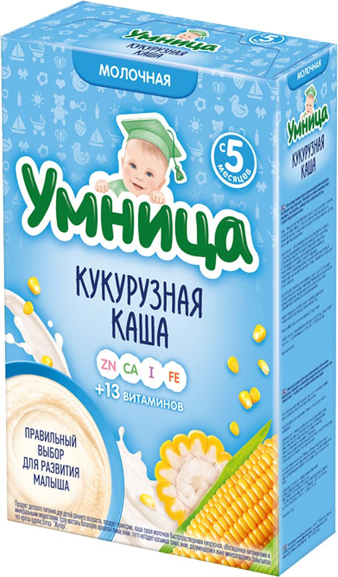 Умница каша кукурузная молочная, с 5 месяцев,  200 г