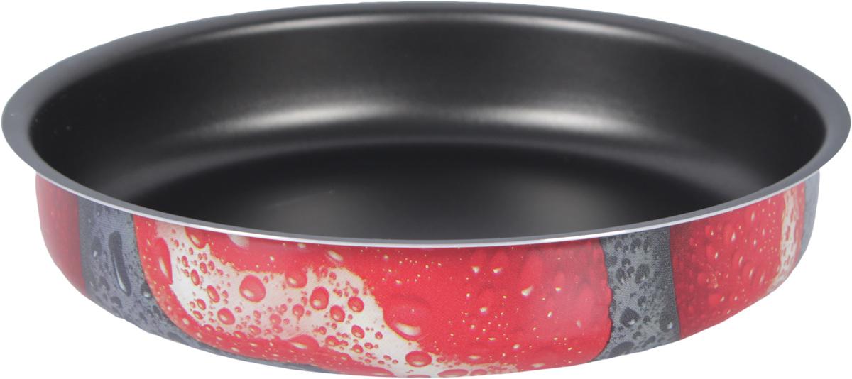 Форма для выпечки Jarko Valentina, с антипригарным покрытием, диаметр 22 см. JVaL-622-10AN8-1Форма для выпечки Jarko Valentina изготовлена из алюминия сантипригарным покрытием. Антипригарное покрытие препятствует прилипаниювыпечки к стенкам. Такая форма найдет свое применение для выпечкибольшинства кулинарных шедевров.