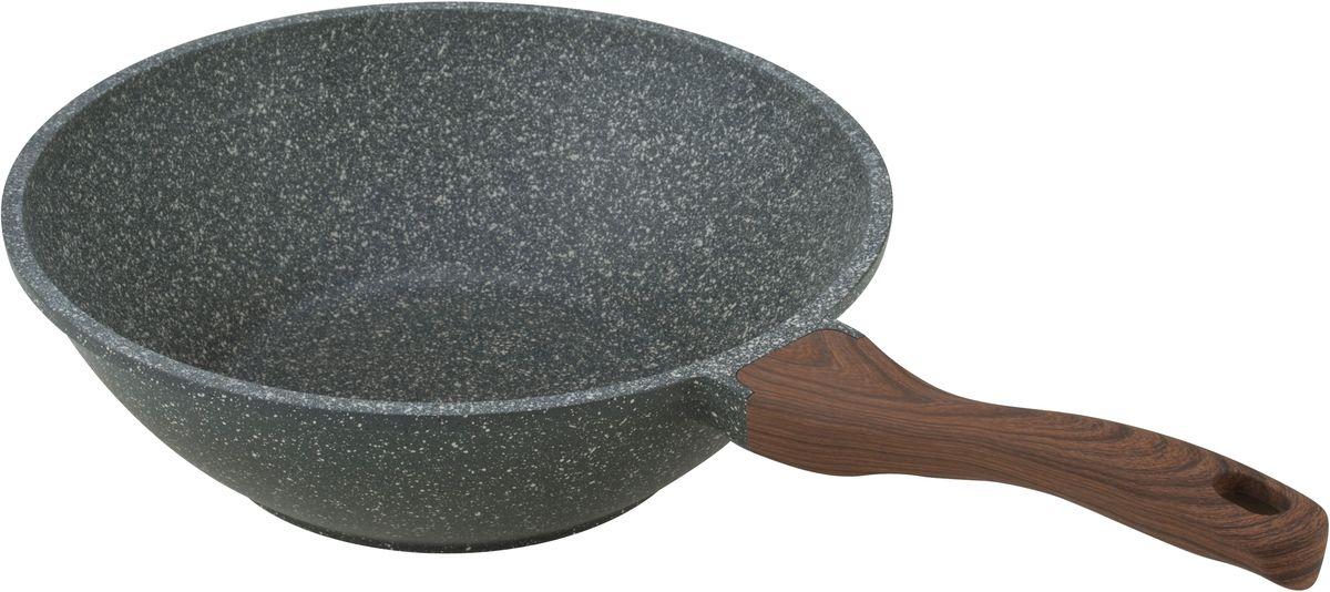 Сковорода-вок Fissman DAKJJIM, с антипригарным покрытием. Диаметр 30 смAL-4429.30