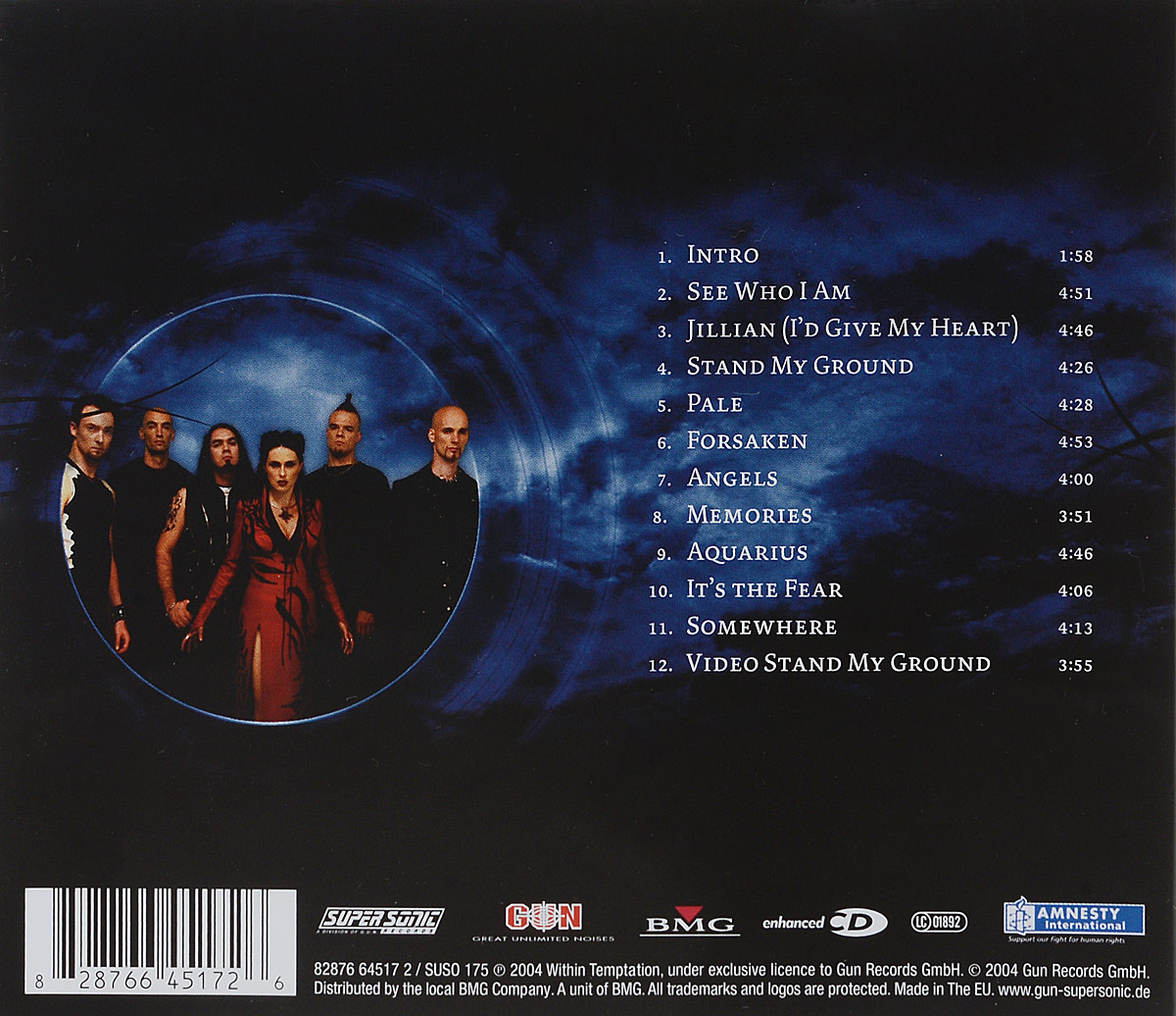 Within Temptation.  The Silent Force (ECD) SONY BMG Russia,Gun Records