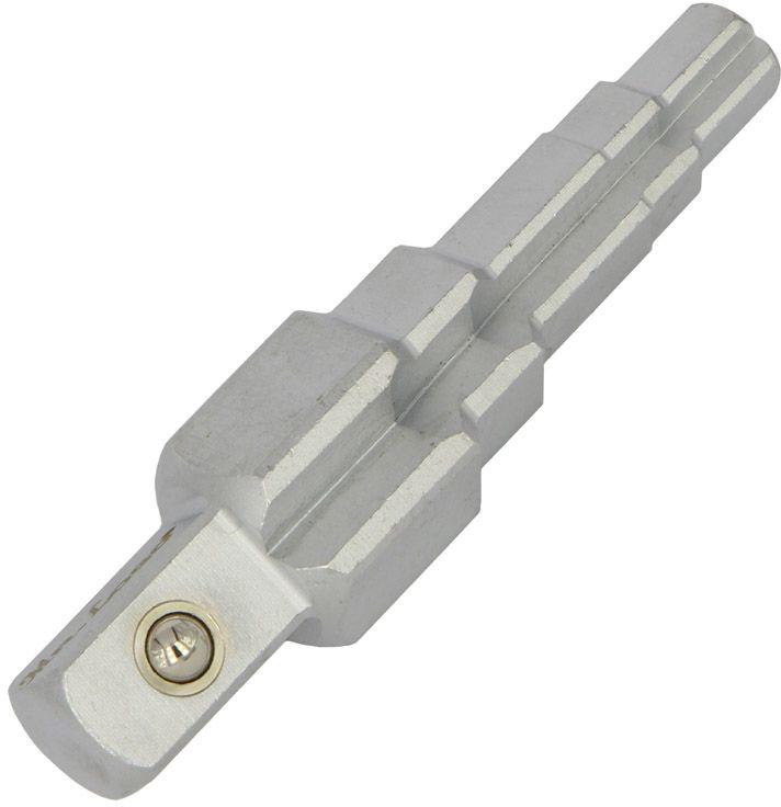 Ключ сантехнический универсальный Mr.Logo, для внутренних гаек58401Ключ сантехнический Mr.Logo имеет универсальное применение и предназначен для внутренних гаек.