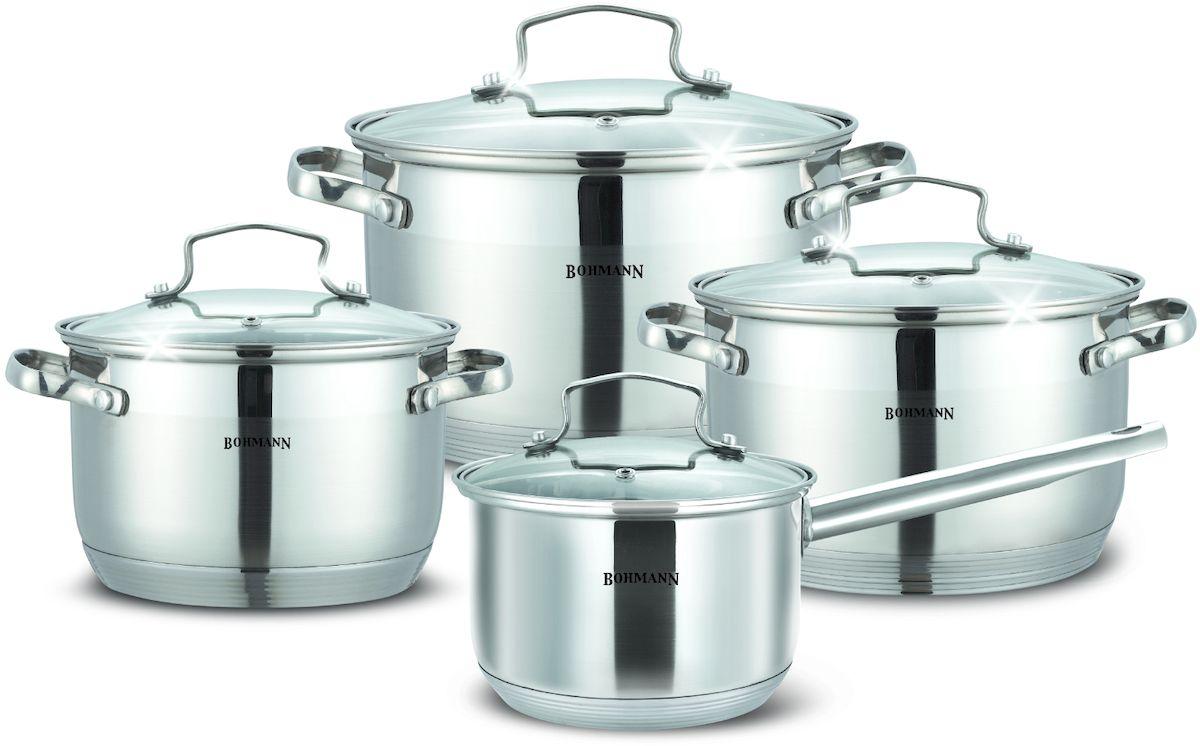 Набор посуды  Bohmann , 8 предметов. 1908BH - Посуда для приготовления