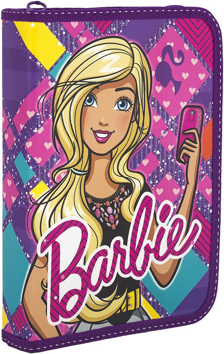 Barbie Пенал с клапаном BREB-MT1-031PRBREB-MT1-031PRПенал жесткий, ламинированный, с одним отделением на молнии; с откидным клапаном внутри и креплениями для канцелярских принадлежностей. Размер 20,5 х 14 х 3,5 см.