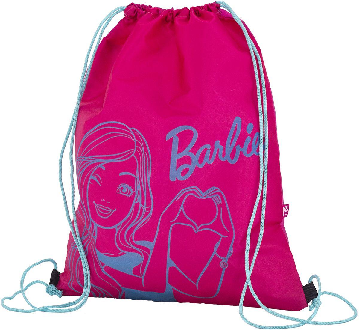 Barbie Сумка для сменной обуви BREB-MT2-883BREB-MT2-883Мешок для переноски обуви, выполнен из плотного водостойкого материала, затягивается сверху шнуром-лямкой и носится, как рюкзак. Размер: 43 х 34 х 1 см.