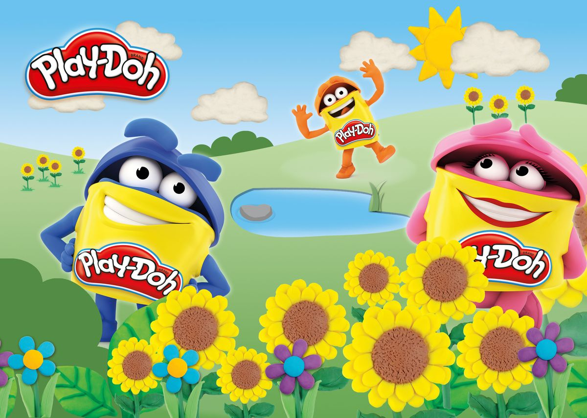 Play-Doh Подкладка на стол для лепки и рисования А3
