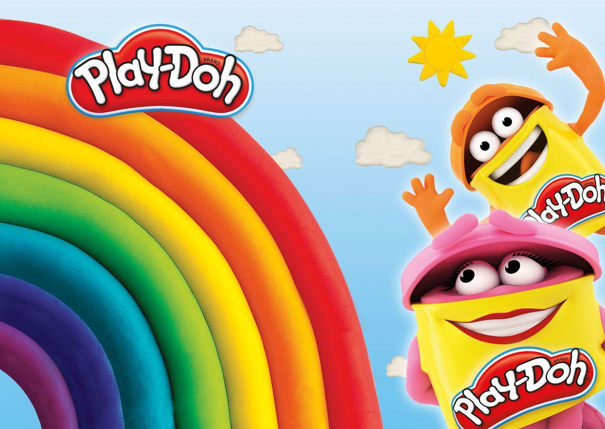 Play-Doh Подкладка на стол для лепки и рисования А4