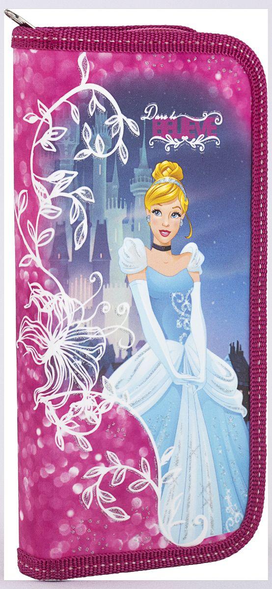 Disney Princess Пенал ЗолушкаPREB-MT1-033PRОдносекционный пенал Disney Princess Золушка станет не только практичным, но и стильным школьным аксессуаром вашего ребенка.Жесткий пенал выполнен из прочного ламинированного картона и закрывается на застежку-молнию. Состоит из вместительного отделения, в котором без труда поместятся все необходимые в школе канцелярские принадлежности.Внутри отделения находятся откидной клапан и эластичные крепления для канцелярских принадлежностей. Для обеспечения дополнительной износоустойчивости, пенал с закругленными уголками отделан лентой из полиэстера по краю. Такой пенал станет незаменимым помощником для школьника, с ним ручки и карандаши всегда будут под рукой и больше не потеряются.