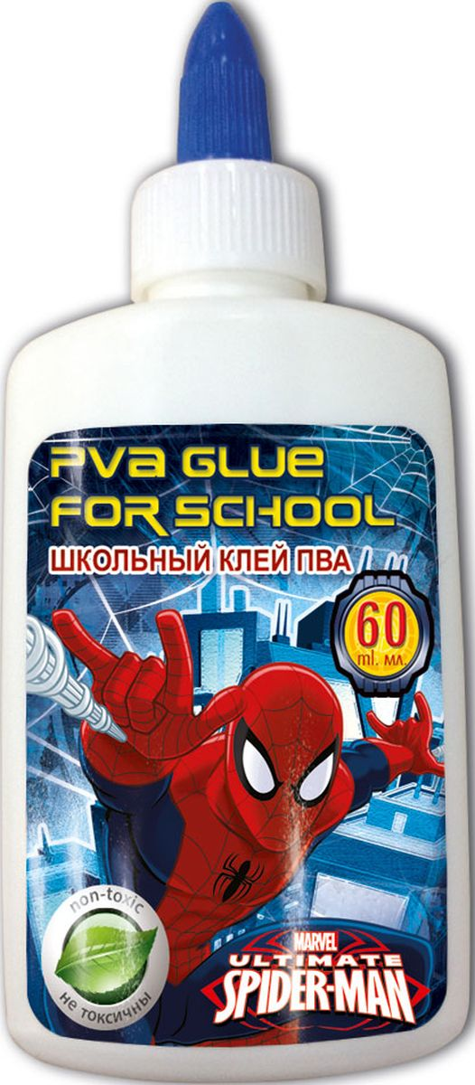 Spider-man Classic Клей ПВА 60 мл рюкзаки spider man classic мешок для обуви spider man classic