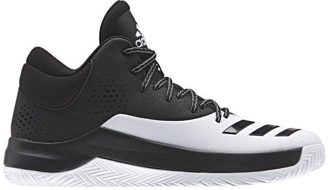 Кроссовки для баскетбола мужские Adidas Court Fury 2017, цвет: черный, белый. BB8381. Размер 13,5 (48)BB8381Правильные кроссовки помогут вам показать все, на что вы способны, где бы вы ни играли. Кроссовки Court Fury 2017 от Adidas - баскетбольная модель с верхом из синтетических материалов дополнена вставкой ADIPRENE+ для оптимальной амортизации. Износостойкая подошва ADIWEAR обладает повышенной прочностью и выдерживает ежедневные тренировки.Внутренняя отделка выполнена из текстиля для наибольшего комфорта. Резиновая подошва с рельефным протектором обеспечивает идеальное сцепление с поверхностью.