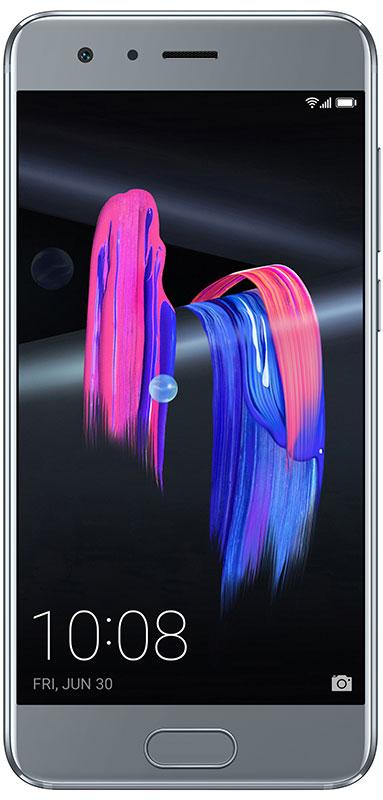 Huawei Honor 9, Grey10185Стекло Huawei Honor 9 соответствует высочайшим стандартам качества и представляет собой пример прекрасного сочетания эргономичности и стиля.Смартфон обработан с помощью технологии фотогравировки, которая придает ему удивительный внешний вид. Поверхность Honor 9 переливается, как гладь горного озера.Изогнутое 3D-стекло задней панели превосходно сочетается с металлической рамкой корпуса, смартфон удобно держать в руке.Двойная основная камера нового Honor 9 позволит вам почувствовать себя настоящим фотографом. Камера совмещает в себе монохромный 20 МП сенсор и цветной 12 МП сенсор.Больше не стоит бояться темноты! Специальная технология биннинга пикселей позволяет делать великолепные снимки даже в условиях слабого освещения. Honor 9 создает прекрасные снимки как днем, так и в ночное время суток.Двойной гибридный зум Honor 9 обеспечивает точность и чистоту изображений - качество съемки не теряется даже при двойном приближении.В приложении Quik вы можете создавать короткие видеоролики-истории из фотографий и видео в несколько нажатий и делиться ими с семьей и друзьями. Более того в Honor 9 доступна функция, записывающая короткое видео в течение 2-х секунд каждый раз, как делается фотография, чтобы запечатлеть момент до и после снимка. Это придает невероятный шарм вашим историям созданным в Quik.Технология 3D-аудио Huawei Histen обеспечивает объемное звучание музыки. Подключив к Honor 9 наушники, вы сможете насладиться своими любимыми музыкальными композициями и идеально чистым звуком. Почувствуйте себя как на концерте в любом месте и в любое время!Аудиоэффекты Honor 9 передают уникальное звучание разных музыкальных стилей. В партнерстве с компанией Monster для Honor 9 был разработан эквалайзер Honor Purity, который обеспечивает чистейшее звучание как высоких, так и низких частот.Смартфон Honor 9 отличается высочайшей эффективностью. Смартфон оснащен процессором Kirin 960, производительность которого на 18% выше, а скорость работы графической карты