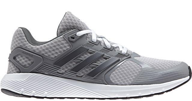 Кроссовки для бега мужские Adidas Duramo 8, цвет: серый. BA8082. Размер 11,5 (45)BA8082Мужские кроссовки для бега adidas Duramo 8 выполнены из текстиля и оформлены фирменными накладками из полимера. Шнурки надежно зафиксируют модель на ноге. Внутренняя поверхность из сетчатого текстиля комфортна при движении. Стелька выполнена из легкого ЭВА-материала с поверхностью из текстиля. Подошва изготовлена из высококачественной легкой резины и оснащена технологией Cloudfoam для поглощения ударных нагрузок и комфортной посадки без разнашивания. Поверхность подошвы дополнена рельефным рисунком.