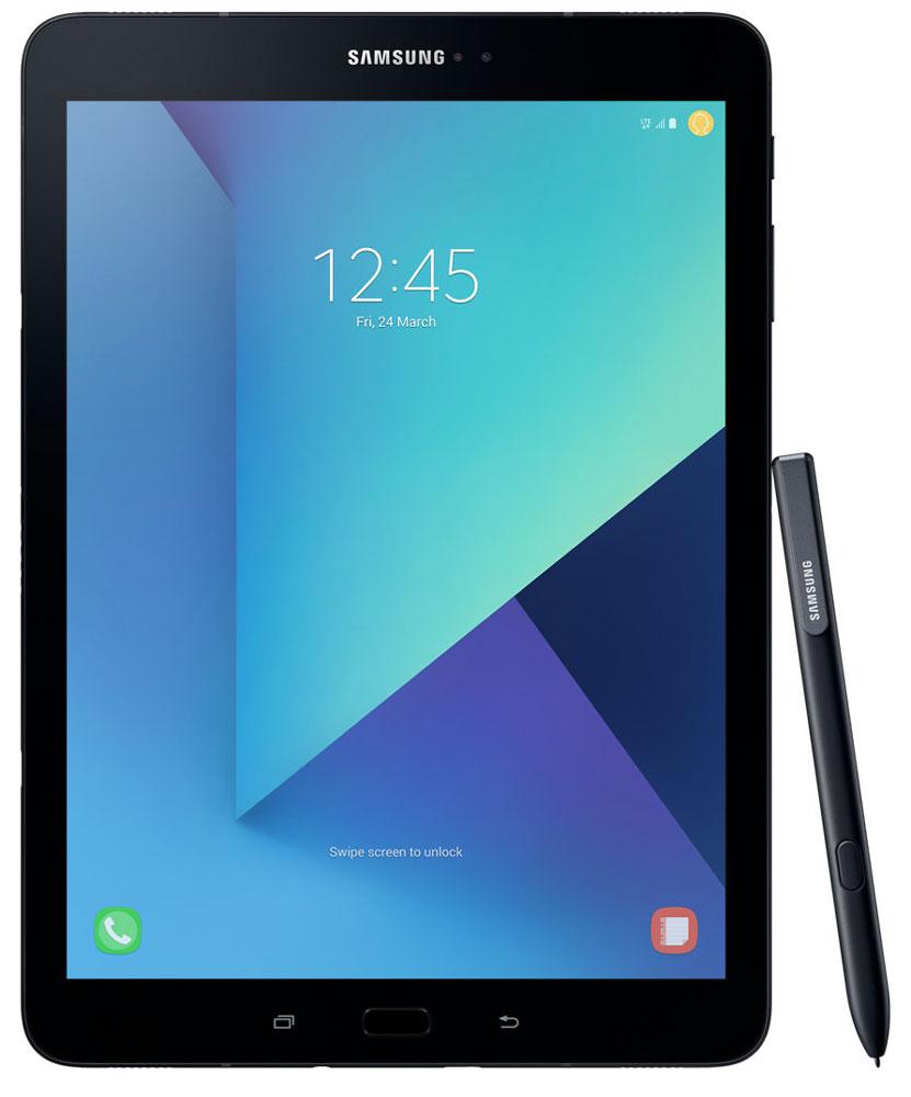 Samsung Galaxy Tab S3 9.7 SM-T825, BlackSM-T825NZKASERОткройте для себя роскошный и уникальный дизайн Samsung Galaxy Tab S3, сочетающий в себе металл и стекло, свойственный флагманам Galaxy. Глянцевое стекло на задней поверхности демонстрирует богатство глубины цвета, создавая тем самым современный внешний вид, который дополняется крепким и прочным металлом.Просматривайте видео в режиме HDR на высококонтрастном и ярком Super AMOLED дисплее Galaxy Tab S3, а четыре динамика, настроенные AKG, подарят объемный звук, создав атмосферу полного погружения.Мощный процессор Snapdragon 820 и 4 ГБ оперативной памяти позволят вам с легкостью выполнять сложные задачи, обеспечивают работу с несколькими приложениями одновременно, возможность играть в самые современные игры. Высококонтрастный экран Super AMOLED обеспечивает точную передачу всего цветового диапазона.Куда бы вы ни пошли, Galaxy Tab S3 заполнит ваше пространство высококачественным звуком. Это первый планшет Samsung с четырьмя адаптивными динамиками, благодаря которым вам будет доступен многоканальный звук, даже на ходу. Усовершенствованная система динамиков подарит вам богатый звук абсолютно из любого положения планшета. Если вы перевернули планшет - звуковой поток также перераспределится на другие колонки. Таким образом, звук всегда соответствует картинке.Функция Galaxy Game Launcher оптимизирована для экрана планшета Galaxy Tab S3 и включает такие опции, как Режим энергосбережения, Запись игры с возможностью загрузки в сеть, Игра без звука и опцию Поддержка текущих вызовов. Добавьте к существующей графике возможности Vulkan API по поддержке 3D графики, а также многочисленные игры из коллекции Galaxy Game Pack, и вы получите развлечения в режиме non-stop.Перо S Pen существенно изменилось. Теперь, используя электронное перо, вы испытаете те же ощущения, как и при использовании привычной ручки. Пользоваться S Pen очень легко и просто. Можно редактировать изображения, делать монтаж видео или переводить текст. К тому же S