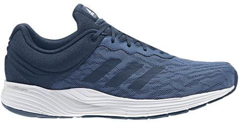 Кроссовки для бега мужские Adidas Fluidcloud M, цвет: синий. BB3329. Размер 12 (46)BB3329Мягкость и комфорт от старта до финиша на ежедневных пробежках. Мужские беговые кроссовки Adidas Fluidcloud M с промежуточной подошвой cloudfoam для адаптивной амортизации и с дышащим сетчатым верхом. Прочная подошва не теряет своих свойств в течение долгого времени.Тип поддержки стопы: нейтральный.Верх выполнен из крупной сетки для максимальной вентиляции. Люверсы анатомической формы для максимально естественных движений. Промежуточная подошва cloudfoam для поглощения ударных нагрузок и комфортной посадки без разнашивания; удобная и функциональная стелька OrthoLite с антимикробным покрытием.Расщепленная подошва для гибкости и независимого движения носка и пятки. Исключительно износостойкая подошва ADIWEAR. Перепад высоты на промежуточной подошве: 9 мм (пятка: 23 мм / носок: 14 мм).