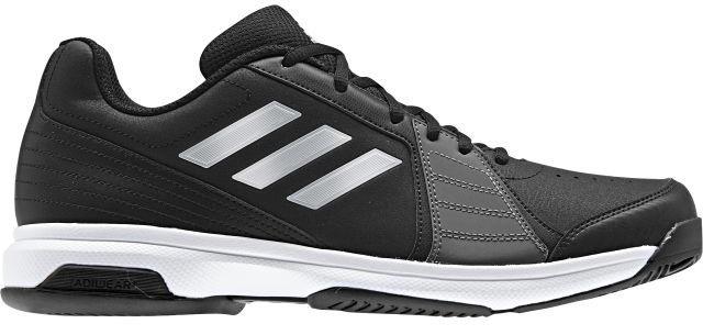 Кроссовки для тенниса мужские Adidas Approach, цвет: черный. BY1602. Размер 13,5 (48)BY1602Отрабатывай подачи с задней линии в этих легких теннисных кроссовках Adidas Approach. Мягкий и прочный верх с перфорацией усиливает циркуляцию воздуха. Износостойкая подошва ADIWEAR обладает повышенной прочностью и выдерживает ежедневные тренировки. Классическая шнуровка надежно фиксирует обувь на ноге. Резиновая подошва с рельефным протектором обеспечивает отличное сцепление с поверхностью.