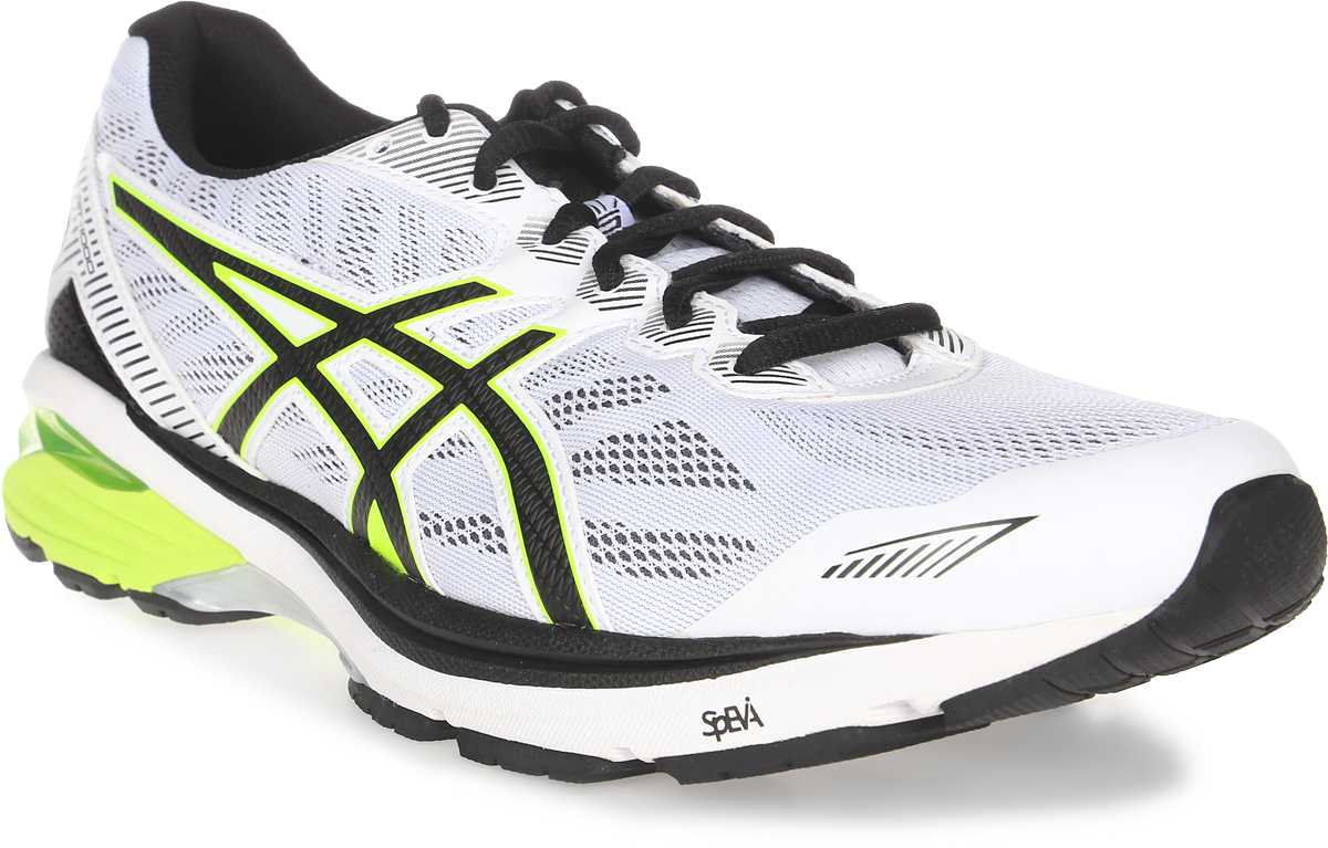 Кроссовки для бега мужские Asics GT-1000 5, цвет: светло-серый, желтый. T6A3N-0107. Размер 12 (45)T6A3N-0107Запланируйте свой следующий полумарафон и готовьтесь к нему в мужских беговых кроссовках GT-1000 5. Поддержка, комфорт и амортизация — все это есть в обуви, которая поможет вам дойти до финиша и подготовиться к следующей дистанции. Кроссовки GT-1000 ощущаются как продолжение вашего тела. Верх модели выполнен из дышащего текстиля, что обеспечивает отличную вентиляцию. За счет уменьшения количества слоев верх идеально облегает стопу и ощущается как вторая кожа. Классическая шнуровка надежно зафиксирует изделие на ноге. Технология стабилизации препятствует подворачиванию стопы с самого начала забега, помогая вам повысить выносливость и сохранить темп. Каждое приземление станет мягче благодаря амортизации GEL в передней и задней части. Стопа находится под контролем с момента касания земли и до самого толчка. Вы получите необходимую поддержку для комфортного преодоления длинных дистанций.