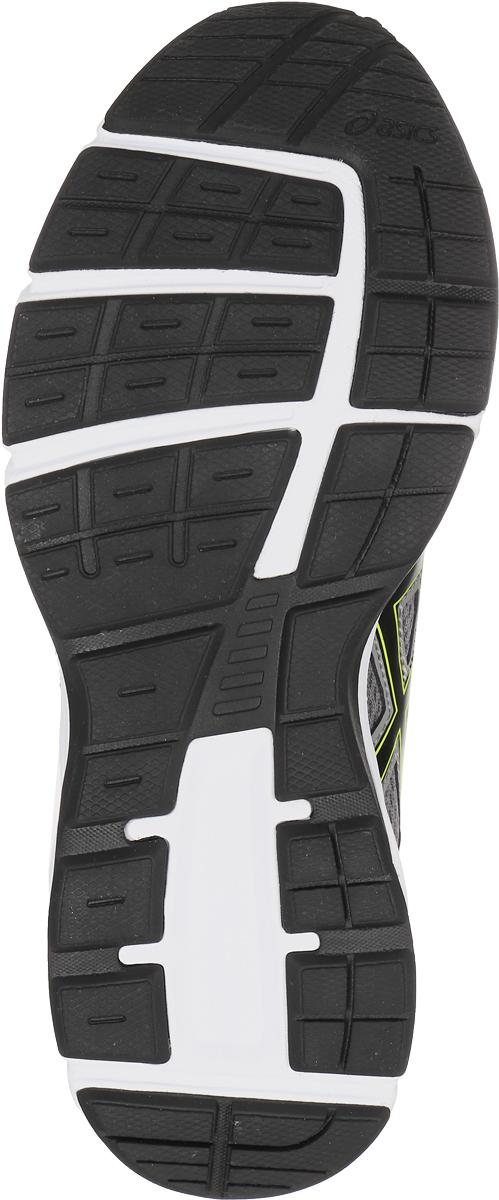 Легкие кроссовки для мальчика  Asics Gel-Galaxy 9 Gs прекрасно подойдут для пробежки по твердой поверхности и прогулок на свежем воздухе.  Верх модели со вставками из воздухопроницаемой сетки обеспечивает отличную воздухопроницаемость и оптимальный микроклимат внутри обуви. Колодка California Slip точно повторяет анатомический контур детской стопы и соединена верхней частью со средней подошвой. Кроссовки имеют специальные накладки из синтетической кожи, расположенные в местах максимальных ударных нагрузок. Съемная стелька из ЭВА-материала может быть заменена на ортопедическую. Система амортизации Rearfoot Gel Cushioning System расположена в промежуточной подошве. Специальный ASICS Gel гасит силу удара, обеспечивая безопасность и комфорт во время бега.