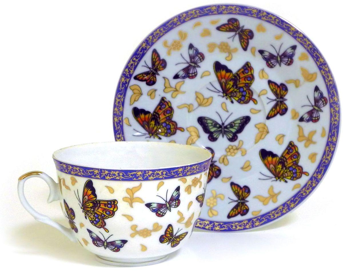 Набор чайный Briswild Полет бабочек, 2 предмета кружка заварочная briswild полет бабочек с ситом и ложкой 350 мл