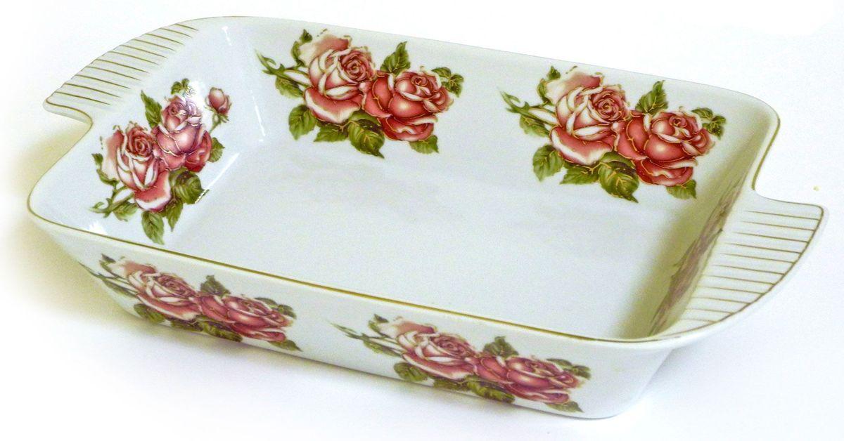Салатник-шубница Briswild Коралловые розы, 30,5 см545-794