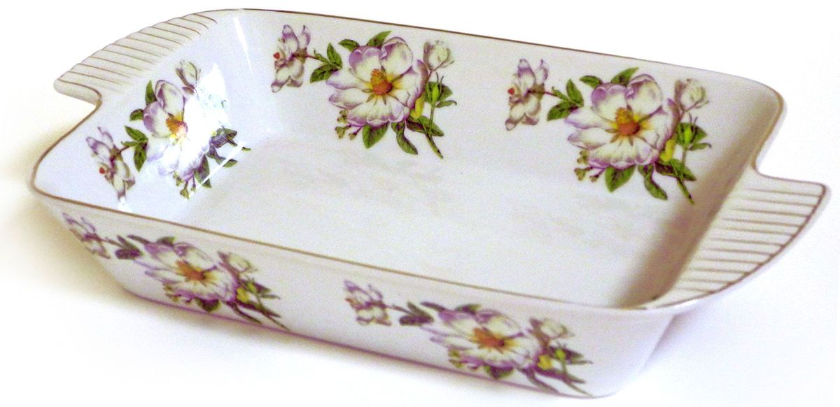 Салатник-шубница Briswild Белый шиповник, 30,5 см545-795