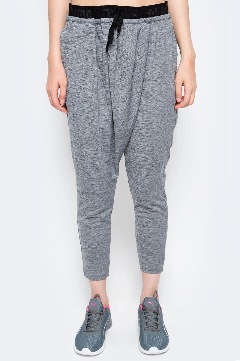 Брюки спортивные женские Puma Transition Drapey Pants W, цвет: серый. 59077701. Размер XS (40/42)